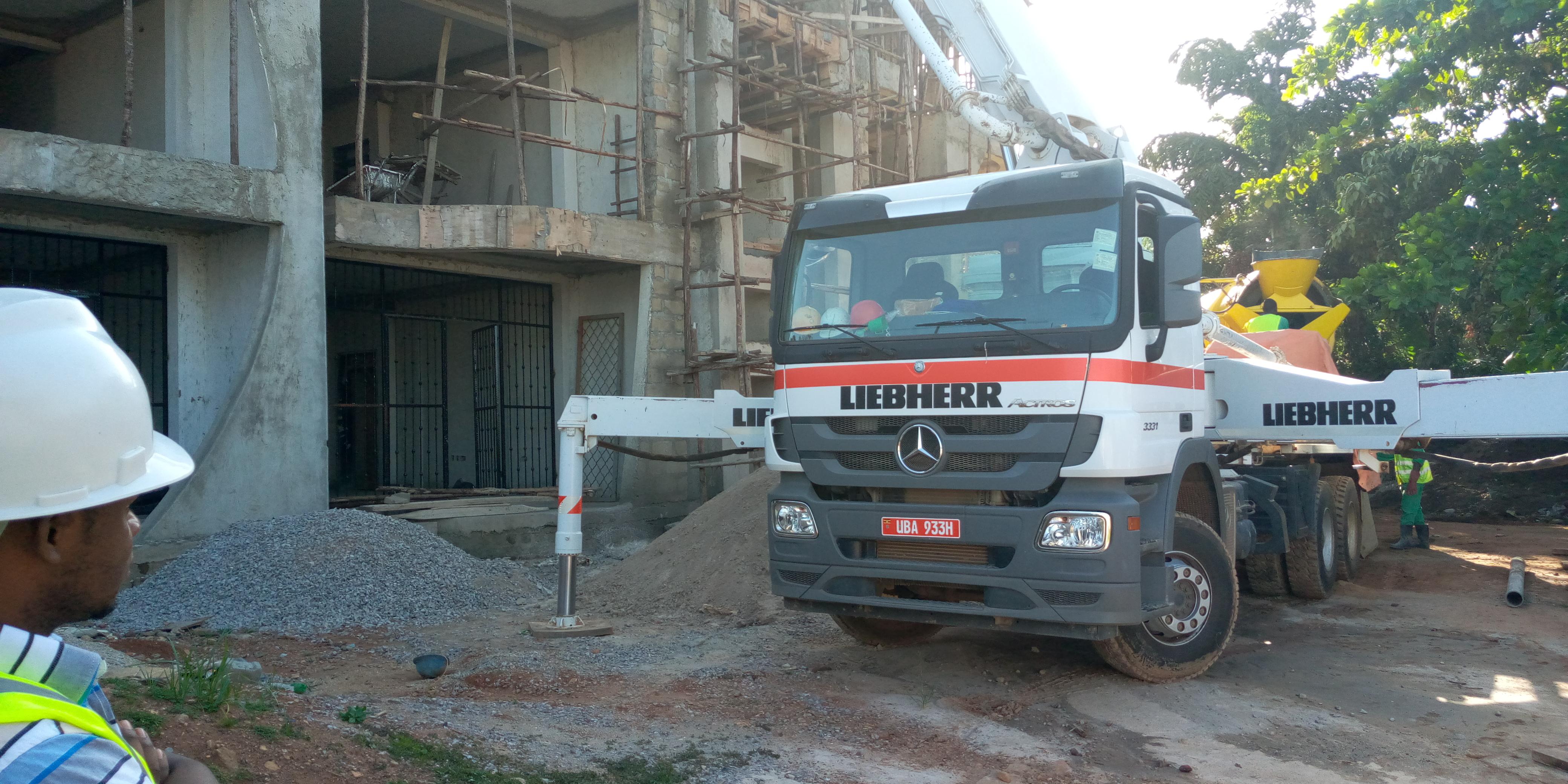 iBM Ready-Mix Concrete Company Uganda Premix Concrete Kampala